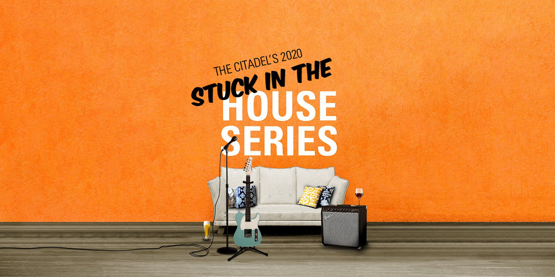 Stuck at home series